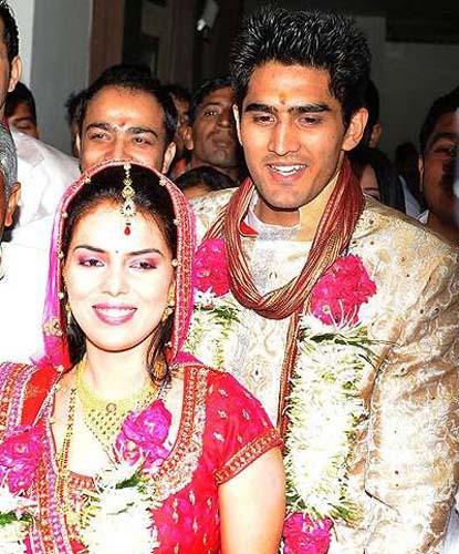Vijender Singh Weds Archana