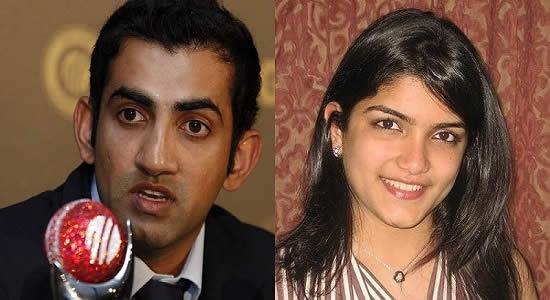 Image of Gautam Gambhir and Fiance Natasha Gambhir Jain