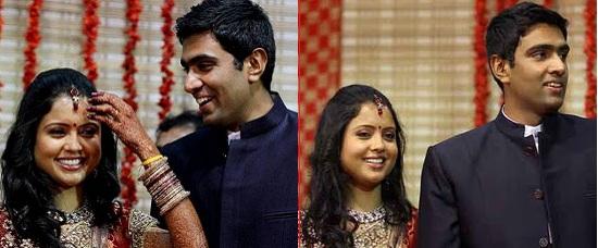 Photos, Video of R Ashwin's Marriage to Wife Preethi Narayanan