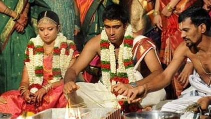 r ashwin and his wife  Pic of Ravichandran Ashwin and
