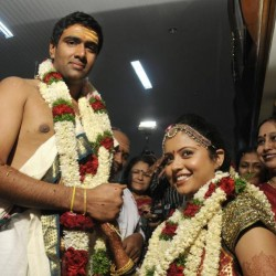 Photos, Video of R Ashwin's Marriage to Wife Preethi Narayanan