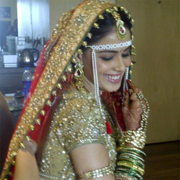 Genelia D'Souza Wedding Dress