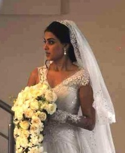 Photo Of Genelia D Souza In A Beautiful White Bridal Gown