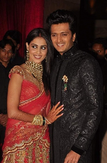 Picture Of Ritesh And Genelias Wedding Reception On 4 Feb 2012