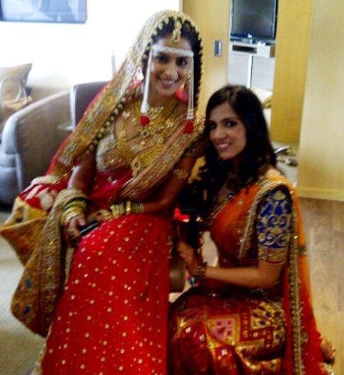 genelia in her wedding saree mother daughter neeta nishka lulla who