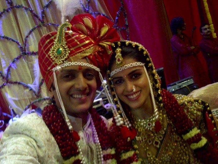 riteish deshmukh and genelia d�souza wedding on february 3