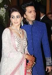 Photo of Genelia and Riteish's Sangeet Ceremony on Jan 31