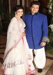 Photo of Ritesh and Genelia's Sangeet Ceremony on Jan 31, 2012