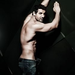 Picture of John Abraham's body