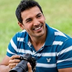 Charming photo of John Abraham