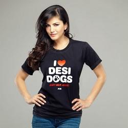 Sunny Leone campaigned for PETA, India