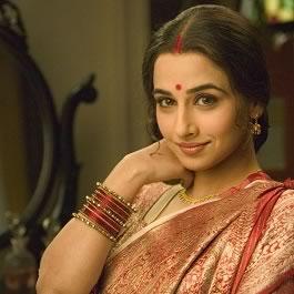 Vidya Balan's first Filmfare award was for Parineeta