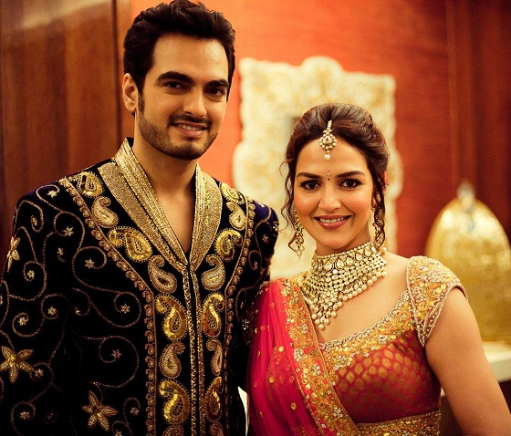 Esha Deol and Bharat Takhtani make a lovely couple