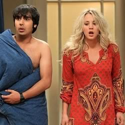 Raj and Penny have a one night stand in Big Bang Theory.