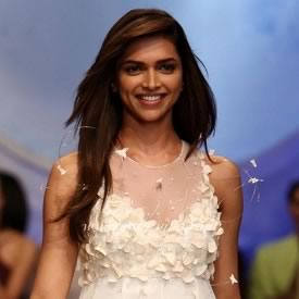 Deepika Padukone showcases an elegant Wendell Rodricks Wedding Gown