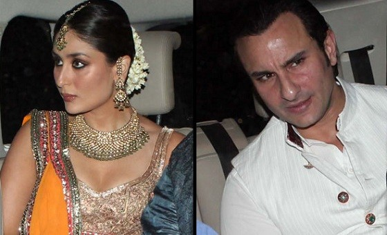 Photo of Kareena Kapoor and Saif Ali Khan At Their Sangeet Ceremony.