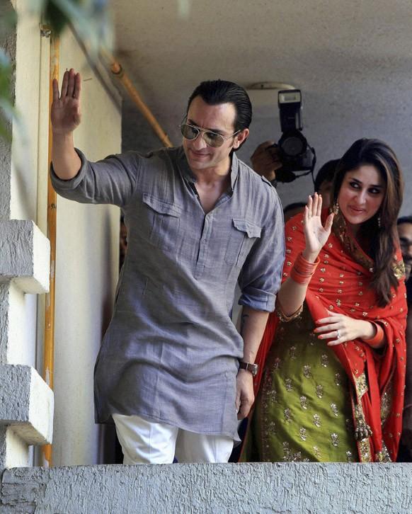 Saif and Kareena Wedding – Date, Photo, Location, Details