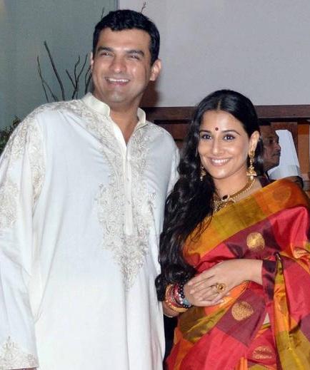 Hy Looking Vidya Balan And Siddharth Kapoor At Their Wedding Sangeet On 11 Dec