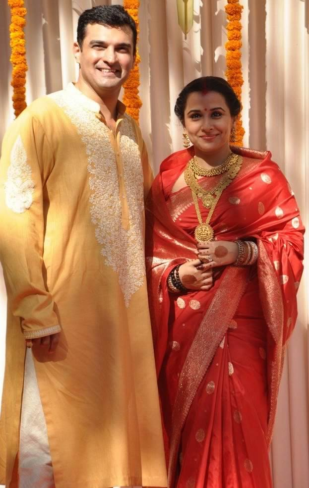 Vidya Balan And Siddharth Roy Kapur Wedding