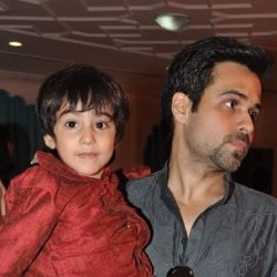 Mohit Suri's cousin, Emraan Hashmi was present with is family (son Ayaan, wife Parveen Shahani) was present at his marriage to Udita Goswami.
