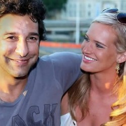 Wasim Akram's Wedding To Second Wife Shaniera