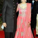 Wedding Photo of Vaibhav Vohra and Ahana Deol at their Marriage.