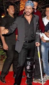 Shahrukh Khan (SRK) at Ahana Deol's Wedding and Reception.
