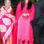 Amitabh Bachchan and Family at Ahana Deol's Wedding and Reception.