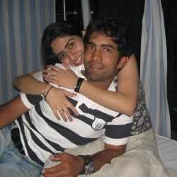 Picture of Dinesh Karthik with his First Wife, Nikita Vanjara.