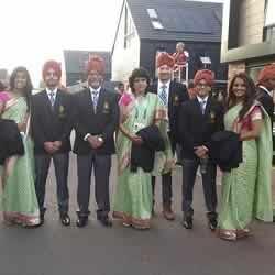 India Squash Team: Dipika, Saurav, Harinder, Anaka, Mahesh, Joshna
