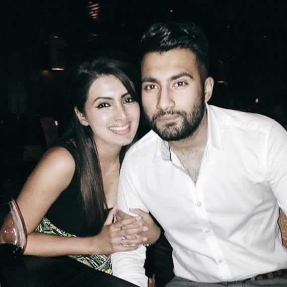 Pic of Harbhajan's wife, Gita Basra, with her Brother Rahul