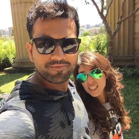 Batsman Rohit Sharma On Holiday With His Wife Ritika