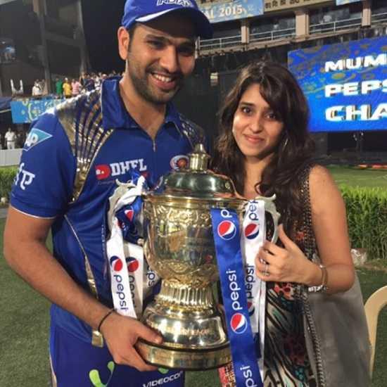 Rohit Sharma And His Wife Ritika Before Their Marriage